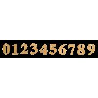 Kartonska številka, 40 x 1 mm