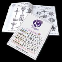 Knjiga tattoojev, več kot 1500 kreacij, 48 strani