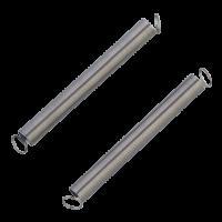 Komplet dveh vzmeti z zanko, 60 x 6.3 mm