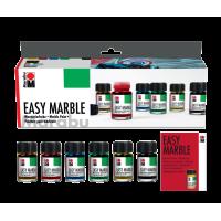 Komplet Easy marble, 6 x 15 ml