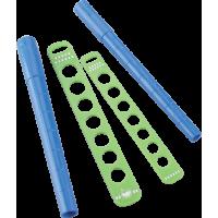 Komplet pripomočkov za izdelovanje prstanov, Ø15 - 18 / 18.5 - 21.5 mm, 4 delni