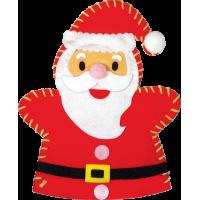 Komplet za izdelavo ročne lutke, Božiček