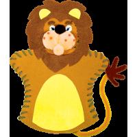 Komplet za izdelavo ročne lutke, lev