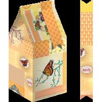 Komplet za izdelavo škatlice, 24.8 x 33 cm, metulj, 5 škatlic