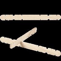 Konstrukcijske lesene palčke, ca. 11.4 x 10 mm, 40 kosov