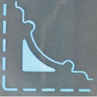 Kotna štanca EK Success, ca. 2 cm, ornament