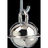 Kraguljček, srebrn, 15 mm