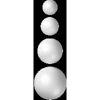 Krogla iz stiropora, Ø20 - 120 mm