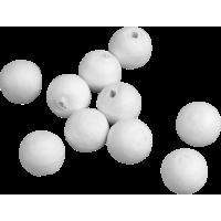 Kroglice iz vate, Ø10 mm, 10 kroglic