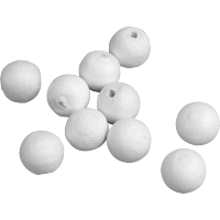 Kroglice iz vate, Ø20 mm, 10 kroglic