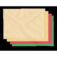 Kuverta K17, B6, 125 x 176 mm, več barv