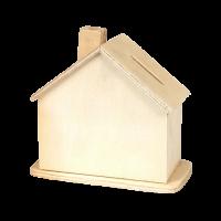 Lesen hranilnik, hiška, 60 x 110 x 100 mm