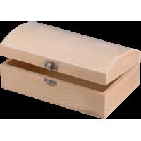 Lesena skrinjica, 13 x 5 x 4,5 cm