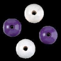 Lesene kroglice, Ø8 mm, 90 kosov