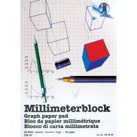 Milimetrski papir, 80 g, A4, 25 listov