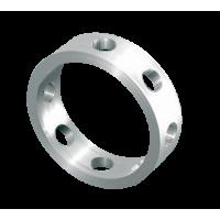 Nakit FIMO, okrogla osnova, ca. Ø10 mm, 4 kosi