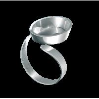 Nakit FIMO, prstan z ovalno osnovo, 1 kos