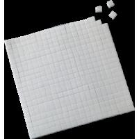 Obojestransko lepljive blazinice, 5x5x3 mm, bele, 560 kosov