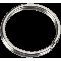 Obroček obeska za ključe Ø25 mm, srebrn, 4 kosi
