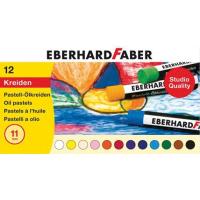 Oljni pasteli Eberhard Faber, Ø11 mm, 12 pastelov
