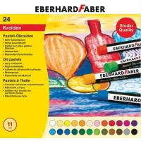 Oljni pasteli Eberhard Faber, Ø11 mm, 24 pastelov