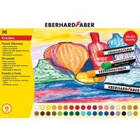 Oljni pasteli Eberhard Faber, Ø11 mm, 36 pastelov