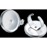 Osnova za prstan Ø25 mm, okrogla, srebrna
