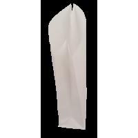 Papirnate vrečke, 80 g, 1 kg, 12 x 26 + 6.6 cm, bele, 10 kosov