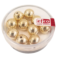 Perle Ø10 mm, zlate, 10 kosov