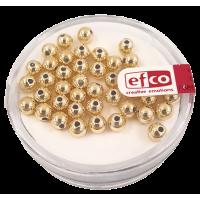 Perle Ø4 mm, zlate, 40 kosov