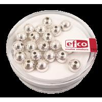 Perle Ø6 mm, srebrne, 20 kosov