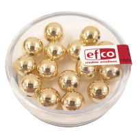 Perle Ø8 mm, zlate, 15 kosov
