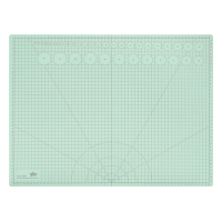 Podlaga za rezanje WEDO, A2 --> A3, pastelno zelena, prepogljiva
