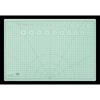 Podlaga za rezanje WEDO, A3 --> A4, pastelno zelena, prepogljiva