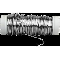 Posrebrena žica, Ø0,4 mm, dolžina 45 m