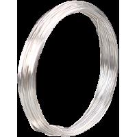 Posrebrena žica, Ø0,6 mm, dolžina 10 m