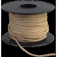 Povoščena vrvica, Ø1 mm, 1 meter