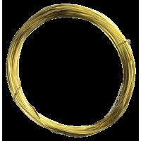 Pozlačena žica, Ø0,6 mm, dolžina 10 m