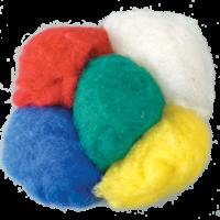 Prava ovčja volna za polstenje, 50 g