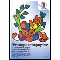 Prosojen papir, raznobarven, 42 g, 23 x 33 cm, 10 listov