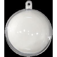 Prozorna plastična krogla, Ø50 mm