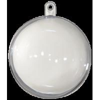 Prozorna plastična krogla, Ø60 mm