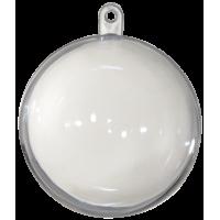Prozorna plastična krogla, Ø80 mm