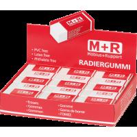 Radirka M+R, 60 x 22 x 11.5 mm, bela