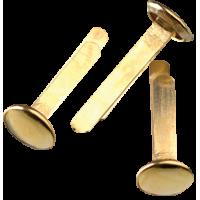 Razcepke, 17 mm, zlate, 20 kosov