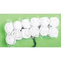 Rožice iz moosgumme, 25 mm, 12 kosov