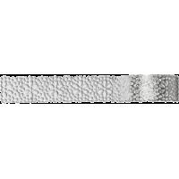 Samolepilna bordura iz papirja, čipka, 12 - 17 mm x 200 cm, srebrna
