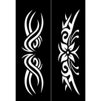 Samolepilna šablona Ki-sign, 12 x 18 cm,