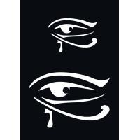 Samolepilna šablona Ki-sign, 7 x 10 cm, Egipčansko oko