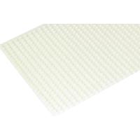 Samolepilne polovične perlice, 3 mm, krem, 702 kosa